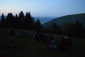 Enjoying the view -Pohorje, Slovenia