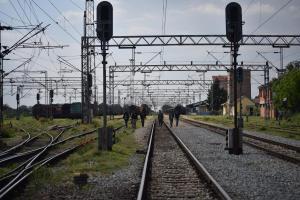 Train tracks - Šid, Serbia