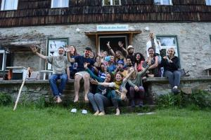 Group photo, Training center in Pohorje, Slovenia