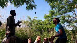 Juggling in the jungle. Photo by - Claudia Strambini. Subotica, Serbia
